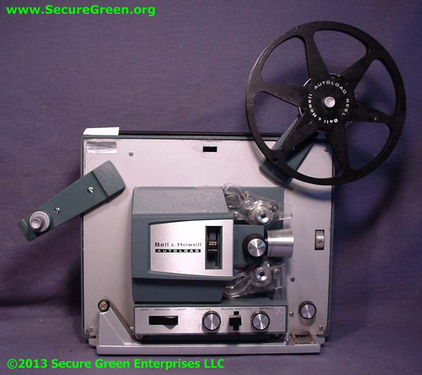 Bell & Howell 482 8mm Projector