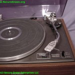 Vintage Pioneer LP Record Turntable