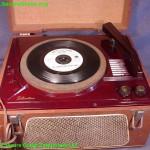 Silvertone portable phonograph