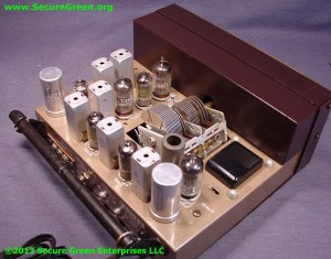 Electronics repair services: Vintage Bell receiver
