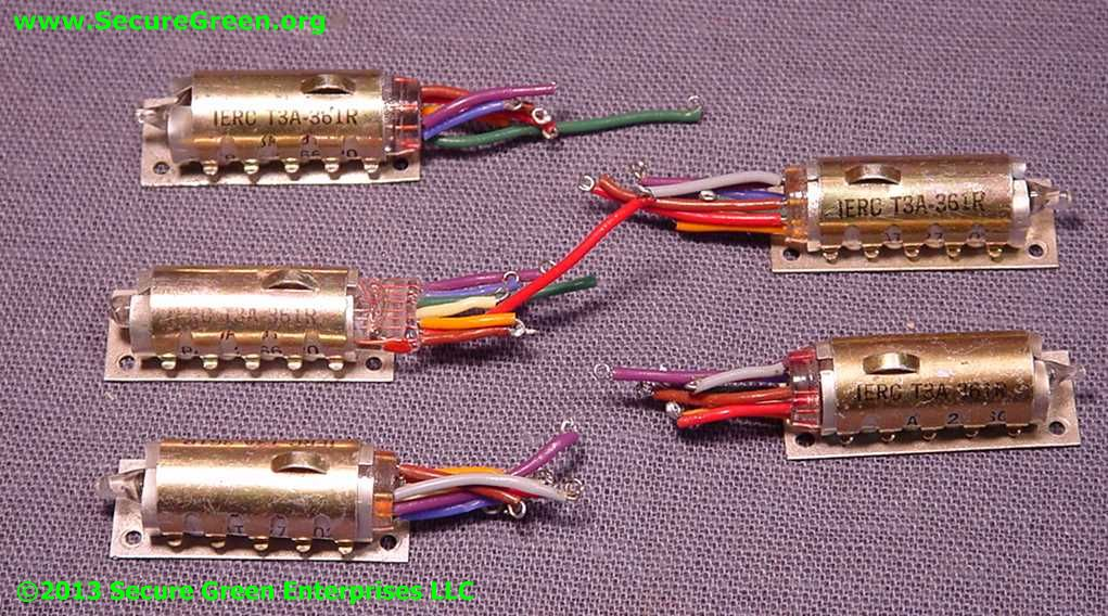 Sub-miniature Vacuum tubes